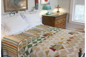 """Lodge Mountain"" Reversible Quilt"