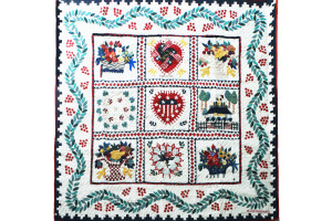 """Southampton Liberty Album"" Cover-Up Quilt 64"" x 64"""