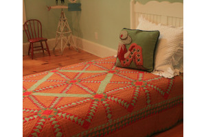 """Copper Canyon"" Twin Quilt 64"" x 85"""