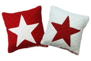 """8 Inch Baby Star"" Pillows. 100% cotton."