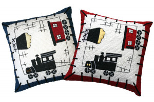 """Local Loco"" Pillows. 100% cotton."