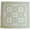 """Feathered Star"" in Champagne-White"
