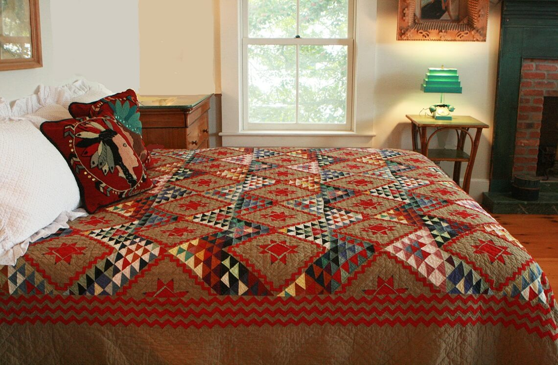 Mississippi Backroads bed comforter