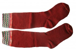 Amish Hand Knitted Wool Stockings