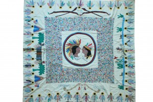 Chief Pieced and Appliqued 1930