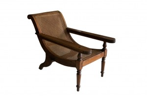 Two views Only one chair available Rare Original  Seamans Caned Chairs  w- Swivel and Extended Arms for Legs