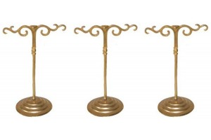 Three  Small  Delicate French Jewelry Stands
