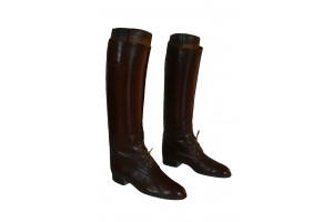 Elizabeth Taylor Historic English Leather Riding Boots