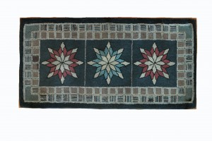 Rug or Wall Hanging Amish Radiant Stars