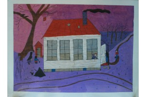 Amish Country Home Lydia Fisher, Artist/Painter