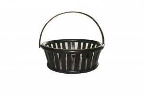 SHAKER BENTWOOD BASKET WITH HANDLE $1,195