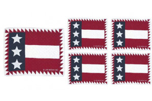 Flag with Sawtooth