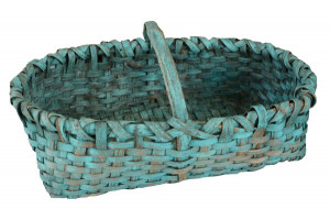 Early American Hand Made Woven Basket