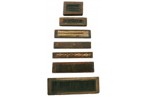 Original Wooden Moldings from Official Building in Washington, DC