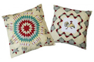"""Post Crossing"" Throw Pillows"