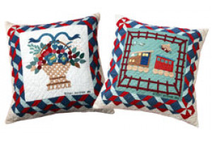 """Southampton Album"" Throw Pillows"